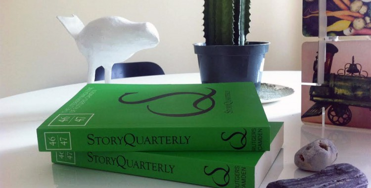 StoryQuarterly magazine on table